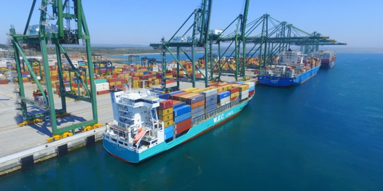 Van Gogh WEC Lines (IMO 9246566). Length 134,44 mtr, Width 22,5 mtr. Capacity 868 Teus. Homeport Limassol. (Photo: WEC Lines)