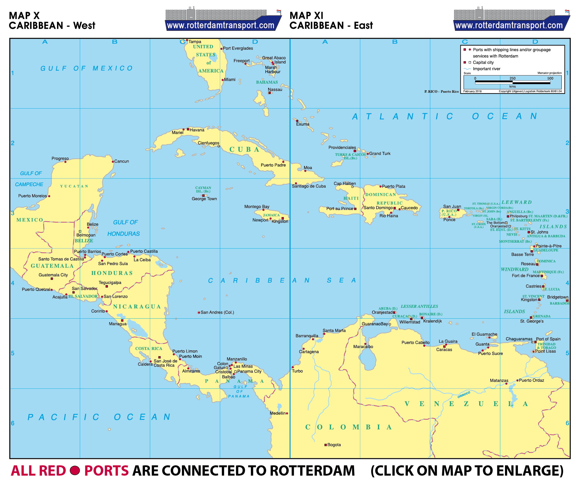 www.rotterdamtransport.com - world port maps