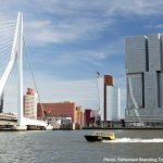 Erasmus brigde and The Rotterdam