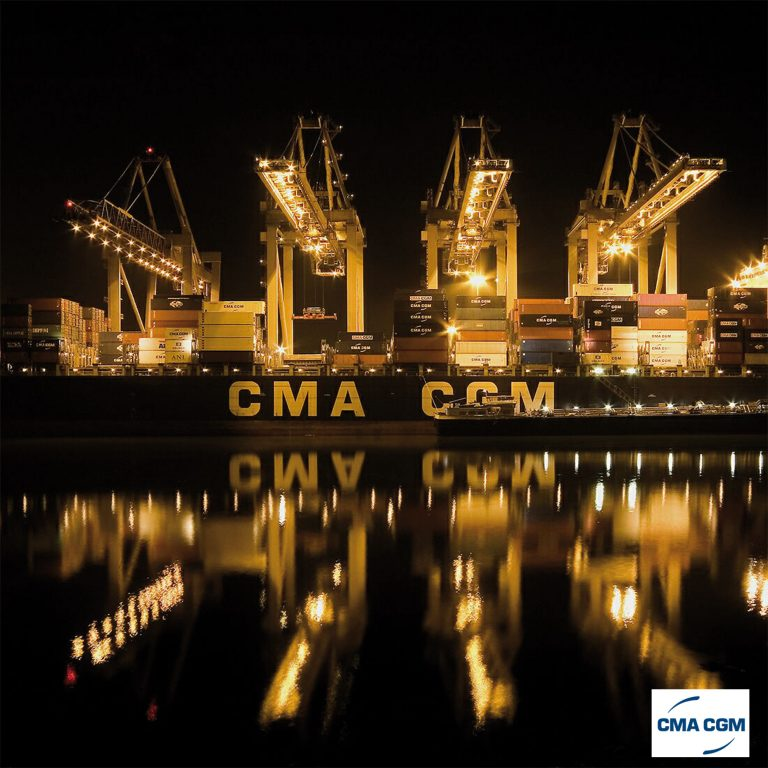 The CMA-CGM DeBussy (IMO 9235907). Length 299, width 40. Build in 2001. Capacity: 6,628 TEU. (Photo CMA-CGM)