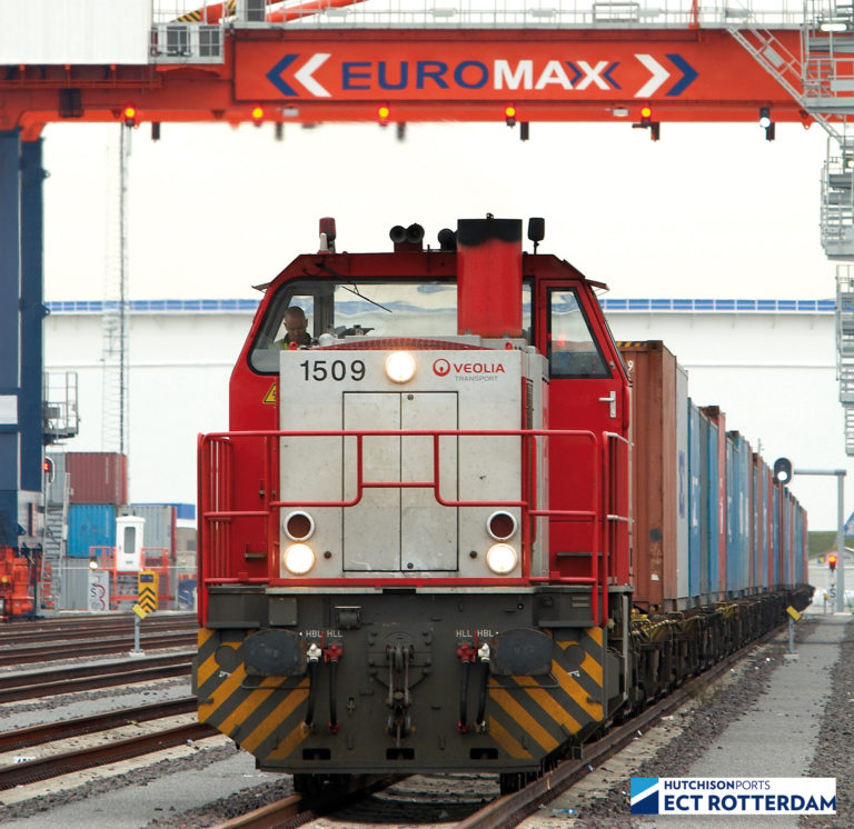 Europe Container Terminal - Euromax (Photo: Hutchison Ports ECT Rotterdam)