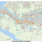 MAP ROTTERDAM PORT AREA