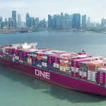 One Ocean Network Express photo of ship