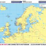 Map I Northwest Europe | Map II Northeast Europe