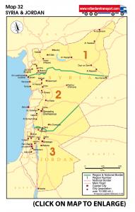 Map 32 Syria & Jordan