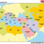 INDEX MAP MEDITERRANEAN / MIDDLE EAST
