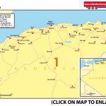 Map 1 Algeria