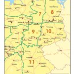 Map 12 Germany - Region 7-11
