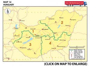 Map 14 Hungary