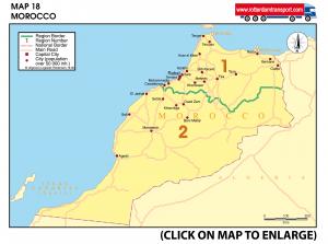 Map 18 Morocco