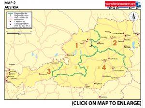 Map 2 Austria