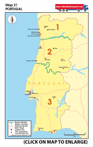 Map 21 Portugal
