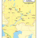 Map 27 Russia & The Caucasus Russia, Georgia, Azerbaijan, Armenia