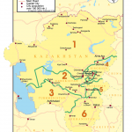 Map 28 Central Asian Republics