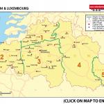 Map 3 Belgium & Luxembourg