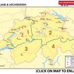 Map 31 Switzerland & Liechtenstein
