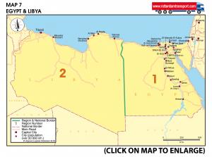 Map 7 Egypt & Libya