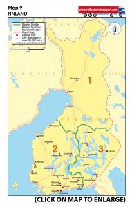 Map 9 Finland