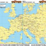 Map I - European Railways West | Map II - European Railsways - East