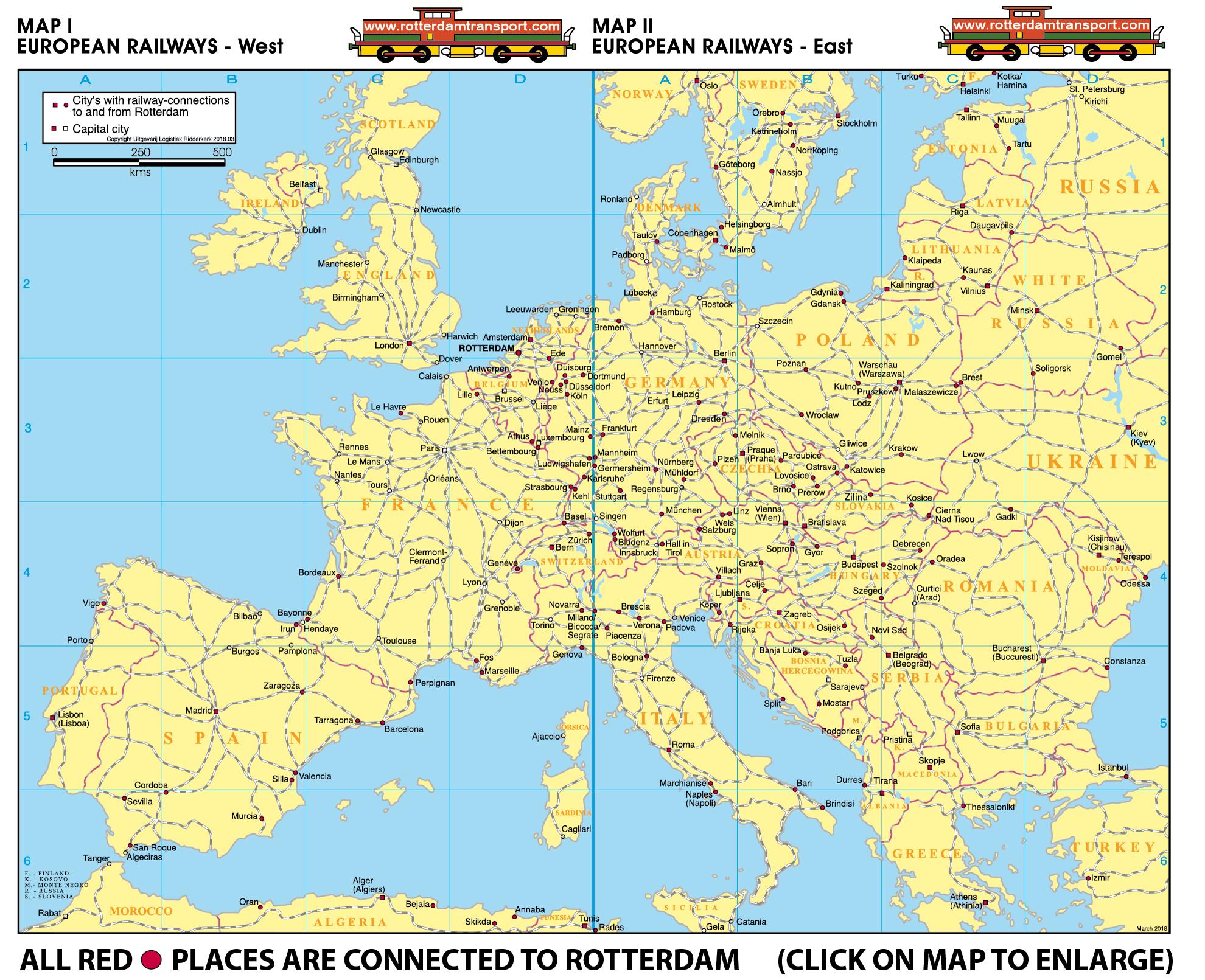 wwwrotterdamtransportcom maps railway traffic