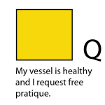 Q - My vessel is healthy and I request free pratique
