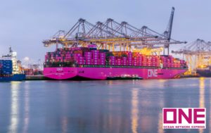 The Columba in the Port of Rotterdam